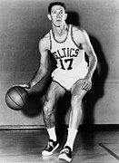 Boston Celtics Framed Prints - John Havlicek (1940- ) Framed Print by Granger