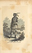 African Americans Prints - John Horse Was Born In 1812 In Florida Print by Everett