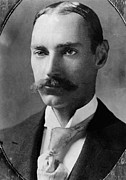 1910s Metal Prints - John Jacob Astor Iv 1864-1912 Metal Print by Everett