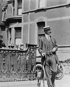 Straw Hats Photos - John Jacob Astor Iv 1864-1912, Walking by Everett