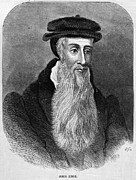 Reformer Framed Prints - JOHN KNOX (c1510-1572) Framed Print by Granger