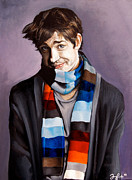 Multicolor Paintings - John Krasinski by Emily Jones