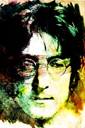 Rock N Roll Digital Art - John Lennon by Andrea Barbieri