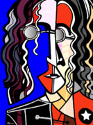 John Lennon Digital Art Originals - John Lennon by C Baum