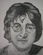 John Lennon Print by Christian Fralick