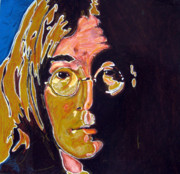 Fab Four  Art - John Lennon Electric Kool-Aid by John Pasdach