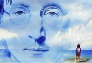 Singers Paintings - John Lennon by Ken Meyer jr