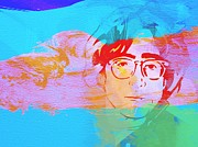 Beatles Metal Prints - John Lennon Metal Print by Irina  March