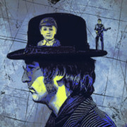 The Beatles  Art - John Lennon by Russell Pierce