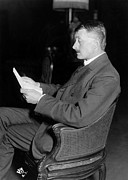 1916 Photos - John Masefield (1878-1967) by Granger