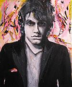Celebrity Portraits Framed Prints - John Mayer Framed Print by Eric Dee