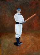 Baseball History Paintings - John McGraw by Ralph LeCompte