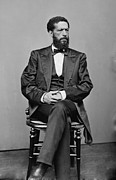 Discrimination Photo Prints - John Mercer Langston 1829-1897, Son Print by Everett