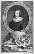 English Civil War Prints - John Milton, English Poet Print by Middle Temple Library
