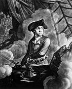 Featured Art - John Paul Jones 1747-1792, American by Everett