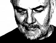 Alternative Music Paintings - John Peel by Dan Carman