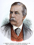 J.p. Photo Prints - John Pierpont Morgan (1837-1913) Print by Granger