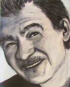 John Drawings - John Prine by Eric Dee