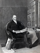 President Adams Prints - John Quincy Adams - President of the United States Print by International  Images