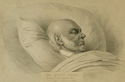Congressmen Framed Prints - John Quincy Adams 1767-1848, A Few Framed Print by Everett