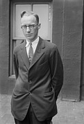 Trial Framed Prints - John Scopes 1900-1970, A Young Lawyer Framed Print by Everett