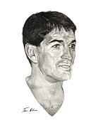 Nba Paintings - John Stockton by Tamir Barkan