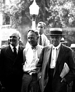 Malone Posters - John T. Scopes C In 1925 At His Famous Poster by Everett