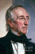 Featured Metal Prints - John Tyler Metal Print by Photo Researchers