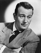 Csx Framed Prints - John Wayne 1907-1979, American Actor Framed Print by Everett