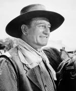 Cowboy Hat Photos - John Wayne (1907-1979) by Granger