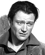 Concern Photo Prints - John Wayne, 1942 Print by Everett