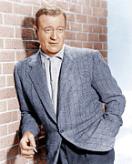 Incol Prints - John Wayne, Ca. 1955 Print by Everett