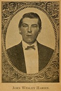 John Wesley Hardin 1853-1895, Claimed Print by Everett