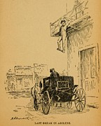 Fugitives Photo Prints - John Wesley Hardin Escaped Out A Hotel Print by Everett