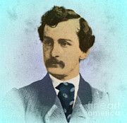 John W. Booth Posters - John Wilkes Booth, Assassin Poster by Photo Researchers