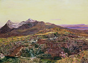 Highlands Of Scotland Prints - John William Inchbold Print by Skye from Sligechan