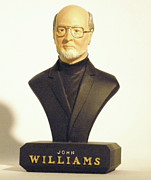 Williams Sculpture Prints - John Williams Print by Nijel Binns