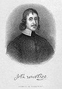 Colonial Man Photos - John Winthrop The Younger by Granger