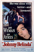 Wyman Prints - Johnny Belinda, Lew Ayres, Jane Wyman Print by Everett
