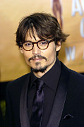 Screen Actors Guild Prints - Johnny Depp At Arrivals  For 11th Print by Everett
