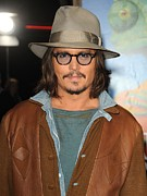 Johnny Depp Photos - Johnny Depp At Arrivals For Rango by Everett