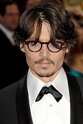 Red Carpet Photo Framed Prints - Johnny Depp At Arrivals For Red Carpet Framed Print by Everett