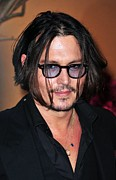 Johnny Depp Photos - Johnny Depp At Arrivals For The Museum by Everett