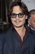 Johnny Depp Photos - Johnny Depp At Arrivals For The Rum by Everett