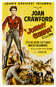 1950s Movies Framed Prints - Johnny Guitar, Joan Crawford, Sterling Framed Print by Everett