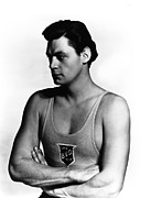 Portraits Posters - Johnny Weissmuller, 1930s Poster by Everett