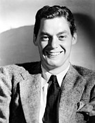Suit And Tie Prints - Johnny Weissmuller, 1940 Print by Everett