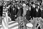 First Lady Metal Prints - Johnson Funeral, 1973 Metal Print by Granger
