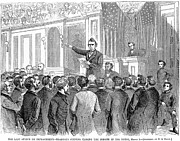 Debate Posters - Johnson Impeachment, 1868 Poster by Granger