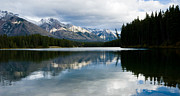 Best Sellers Prints - Johnson Lake Print by Adam Pender